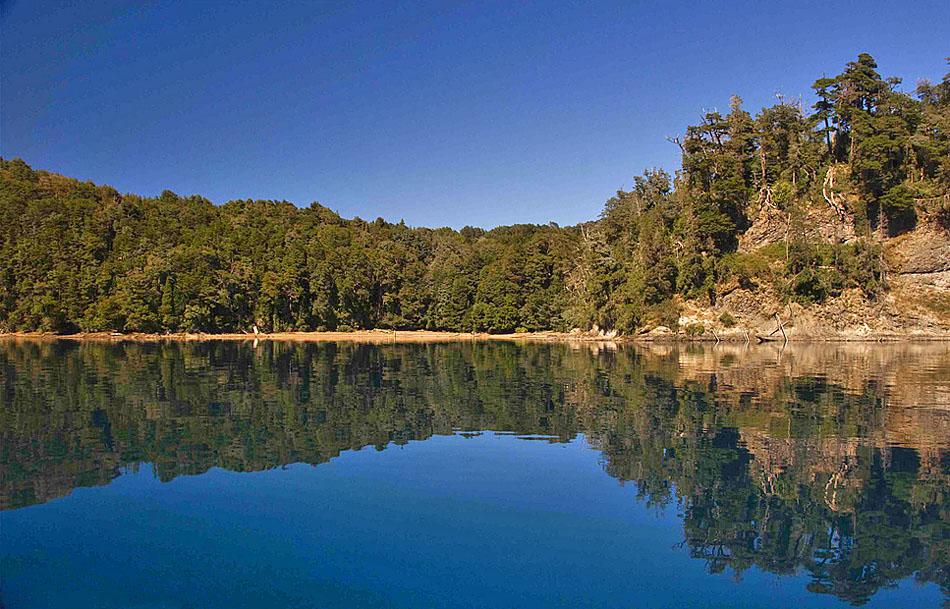 parque nacional arrayanes villa la angostura argentina