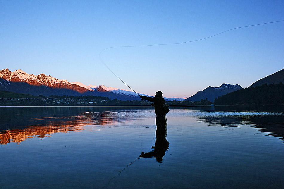 La Angostura, a Fishing Paradise