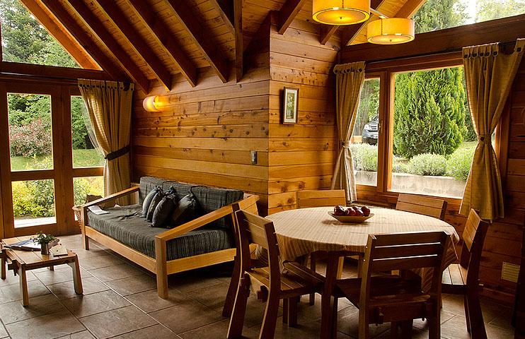 Tillka casas de monta a en puerto manzano caba as en - Casas de montana ...