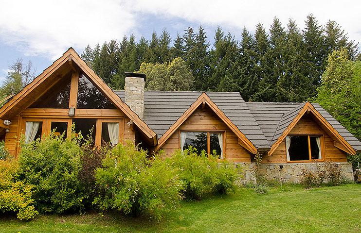 Tillka casas de monta a en puerto manzano caba as en - Casas en la montana ...